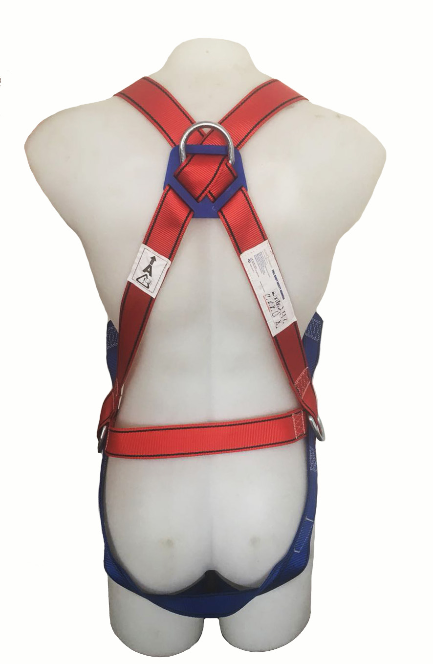 Full Body Harness With Double Lanyard Ecoequipment Ppe