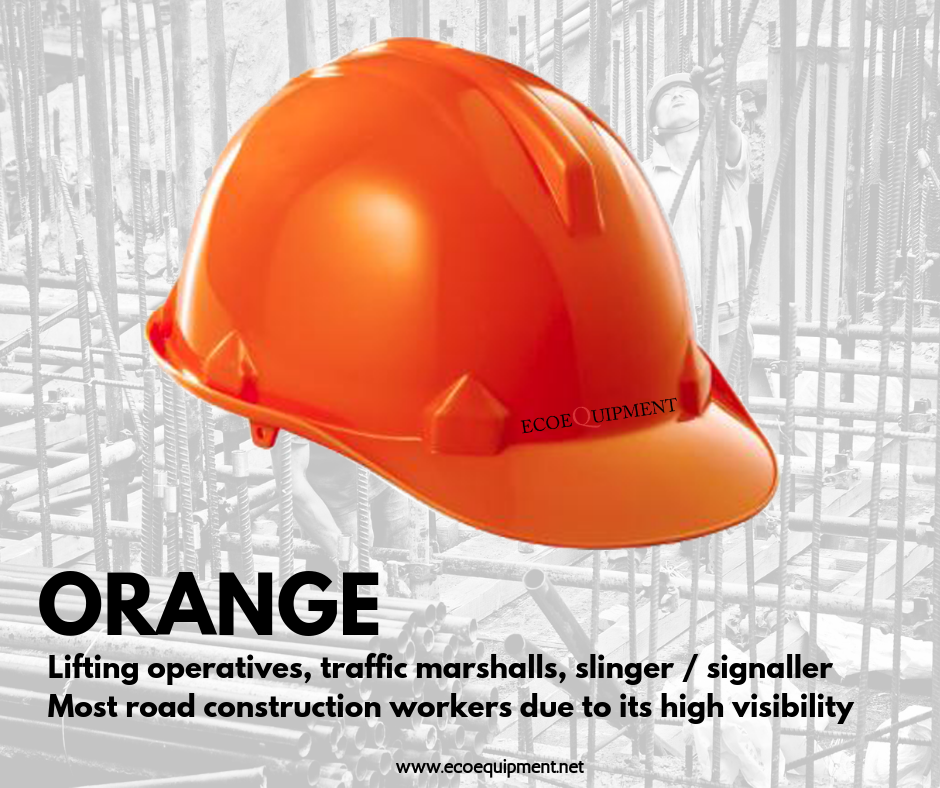 Knowmorewitheco Hardhats Color Code Ecoequipment Ppe Philippines